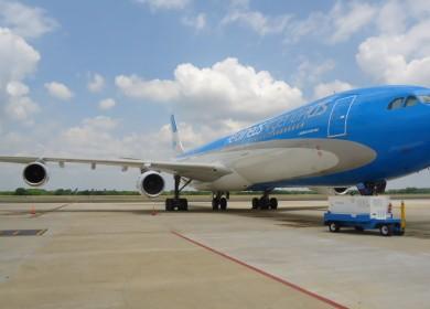 Aerolineas A340 foto AR