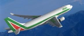 Alitalia A330-200 en vuelo consultora