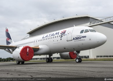 latam A320neo MSN7126 LATAM roll out-002
